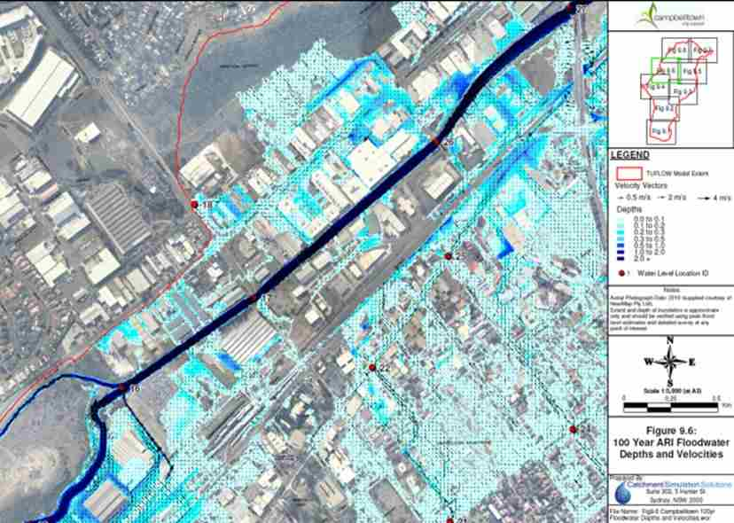 Campbelltown Flood Study