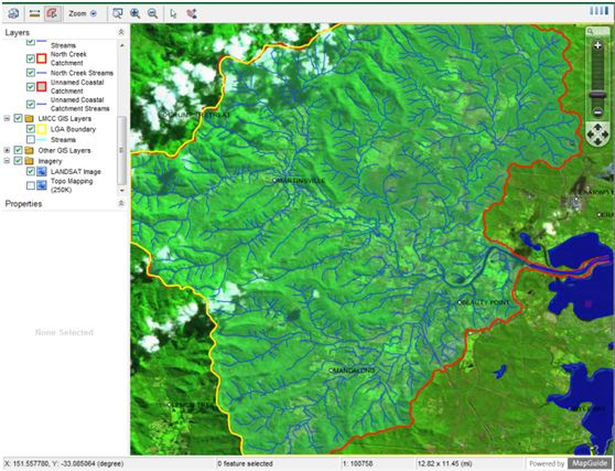 Lake Macquarie Council Stream and Catchment Mapping Project