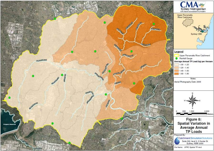 Parramatta River Source Catchments Modelling